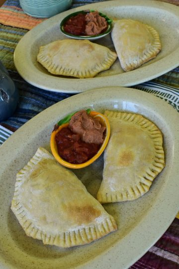 plant based beef empanadas