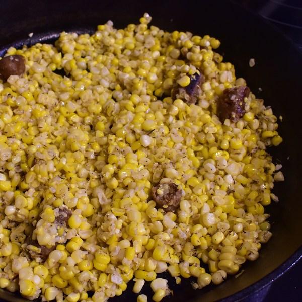 southern fried fresh corn