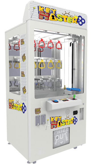 Key Master arcade game in white