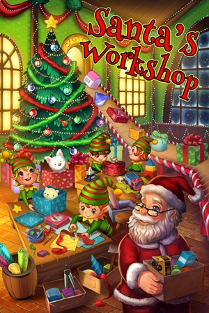 Santa's Workshop Escape Room in Hamilton Ontario Poster