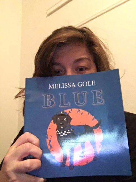 """""""Mel Gole"""" author Blue"""