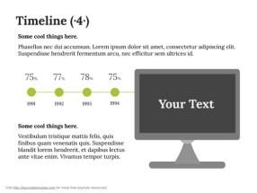 Keynote Timeline Template 5
