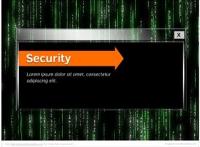 Cyber Security Keynote Theme - Slide 1