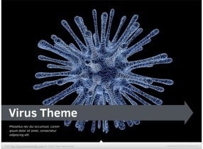 Virus Keynote Template - Slide 1