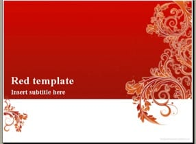 Red Invitation Keynote Template-1