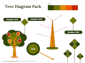 Keynote-Tree-Diagram-Set-1