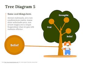 Keynote-Tree-Diagram-Set-8