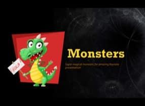 Monsters-Keynote-Template-1