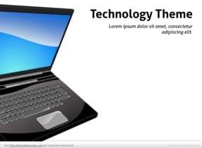 Notebook PC Keynote Template - Slide 1