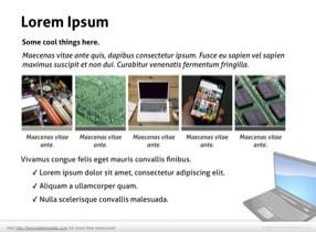 Notebook PC Keynote Template - Slide 10