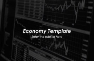 Economy Keynote Template - FREE