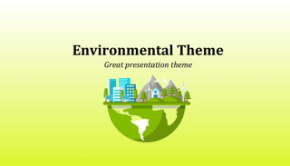 Environment Keynote Template