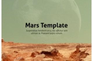 Mars Keynote Template
