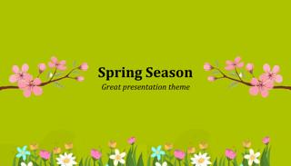 Spring Keynote Template