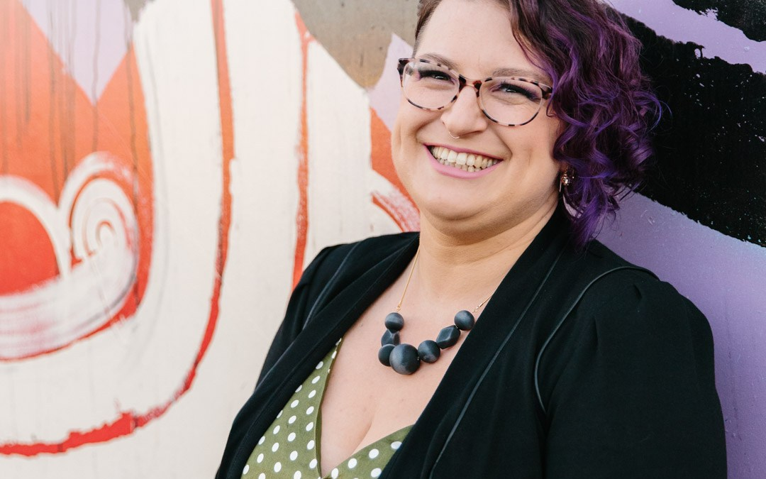 Meet Mel Wojtas, the 'purple' voice against family and domestic violence