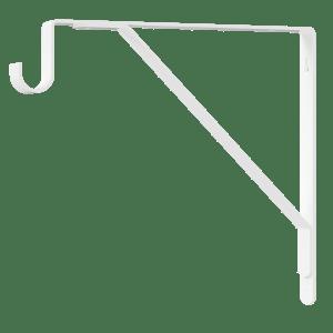 Shelf Bracket w/ Rod Support