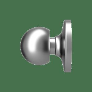 Bifold Door Knob w/ Backplate