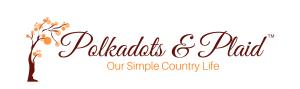 Polkadots & Plaid Fall Logo