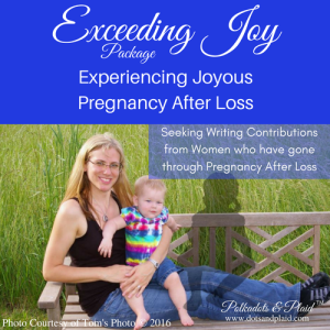Seeking Pregnancy After Loss Contributions