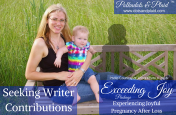 Writing Contributors – Pregnancy After Loss Package