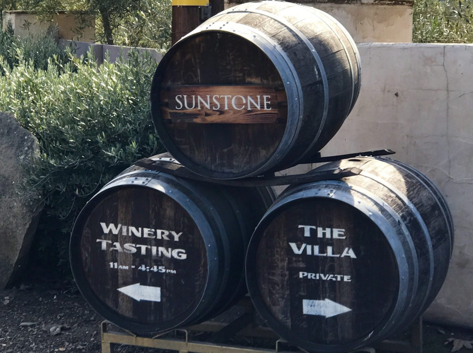 Cool barrels sunstone santa ynez