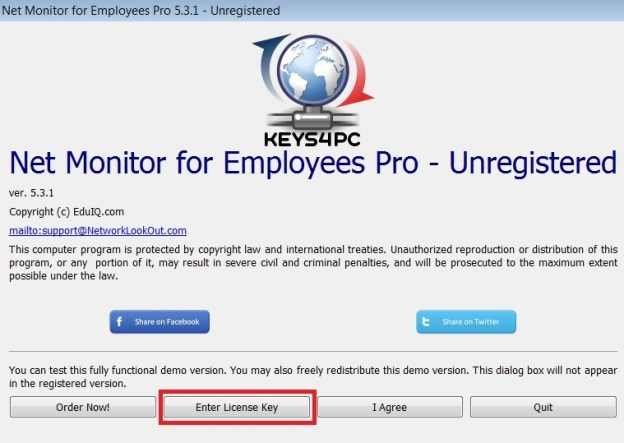 Net Monitor for Employees Pro 5.7.15 License key Crack Updated 2021