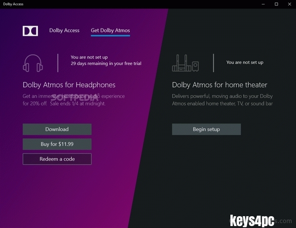Dolby Access Premium 3.7.337.0 With Crack For Win or Mac Lifetime