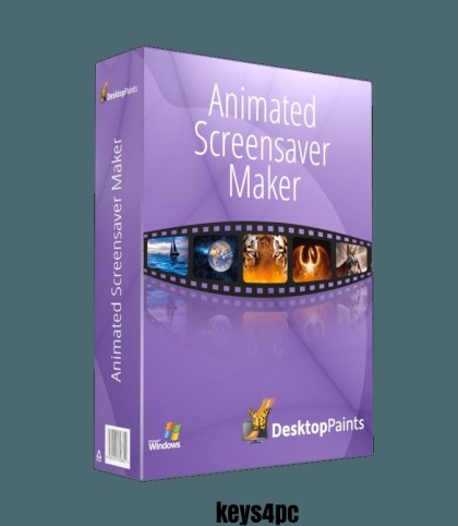 Animated Screensaver Maker 4.4.37 With Crack   Serial Key   2021