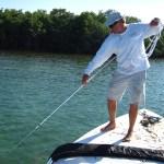 Brian Branigan catching bait
