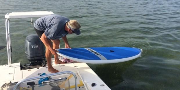 motor paddleboard combo