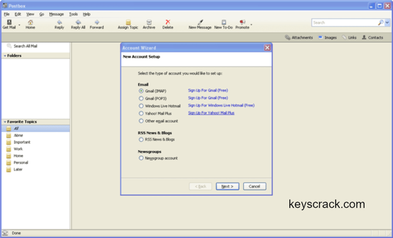 Postbox 6.1.11 Working File