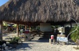 Entrance to the Tiki Hut where meeting is held