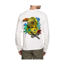 Gold Dive Helmet Long Sleeve