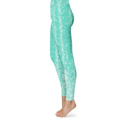 Bubbles on Florida Keys Green Leggings
