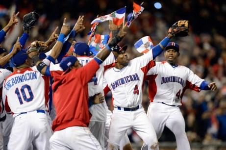 Nella foto, la gioia della Repubblica Dominicana per la vittoria del titolo (Thearon W. Henderson/Getty Images North America da Zimbio.com).
