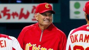 John McLaren manager della Cina (da MLB.com)
