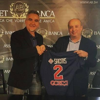 Marco Nanni presentato alla stampa