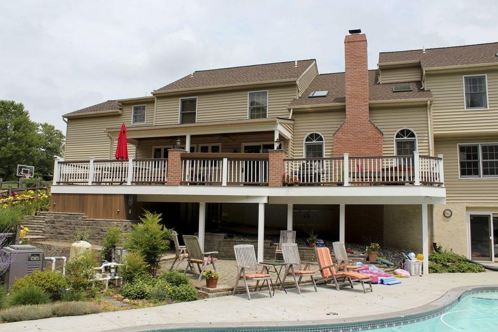 Pool Deck Ideas | Decking Ideas & Designs for Inground Pools on Pool Deck Patio Ideas  id=55608