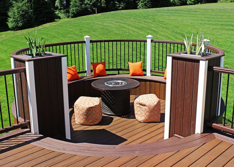 Outdoor Gas & Wood Burning Fireplace   Backyard Firepits on Outdoor Gas Fireplace For Deck id=22533