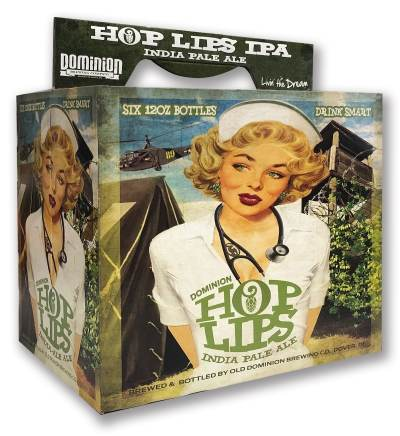 Hop Lips IPA beverage packaging
