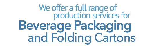 Keystone Paper and Box offers a full range of options for beverage packaging and folding cartons