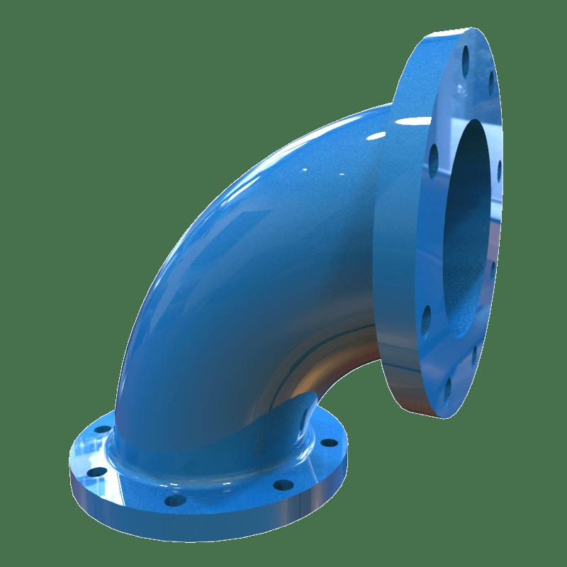 Keystone Heavy Duty High Chrome Discharge Elbows