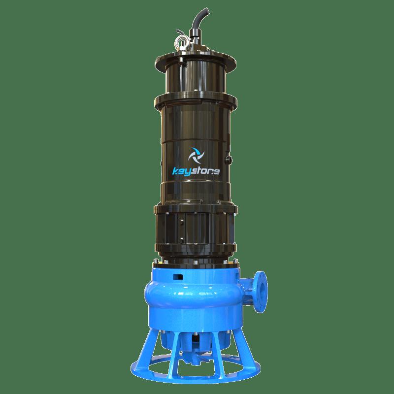 "Keystone HDS 100H 4"" Submersible Slurry Sump Pump"