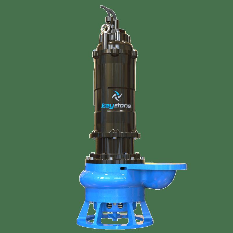 "Keystone HDS 100L 4"" Submersible Slurry Sump Pump"