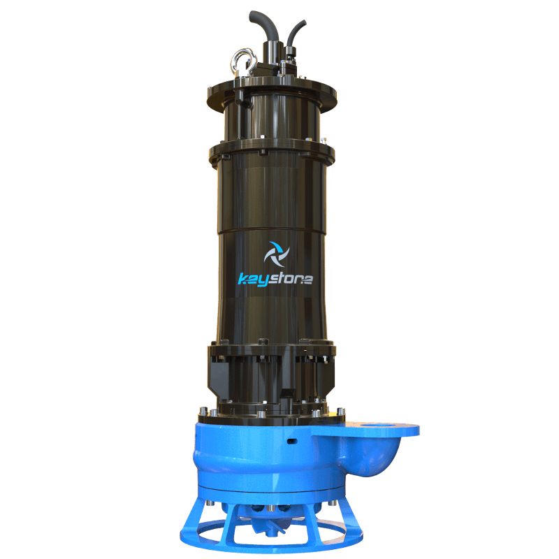 "Keystone HDS 100M 4"" Submersible Slurry Sump Pump"