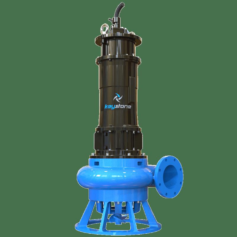 "Keystone HDS 200L 8"" Submersible Slurry Sump Pump"
