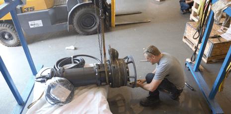 Keystone Pumps 100M Assembly