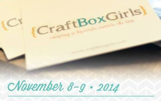 See You At The Craft Girls Box Event This Weekend!