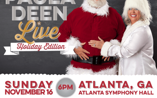 Are You Ready For THE Paula Deen Holiday LIVE Edition?