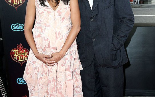 Congratulations To Zoe Saldana & Marco Perego On The Birth Of Their Sons!